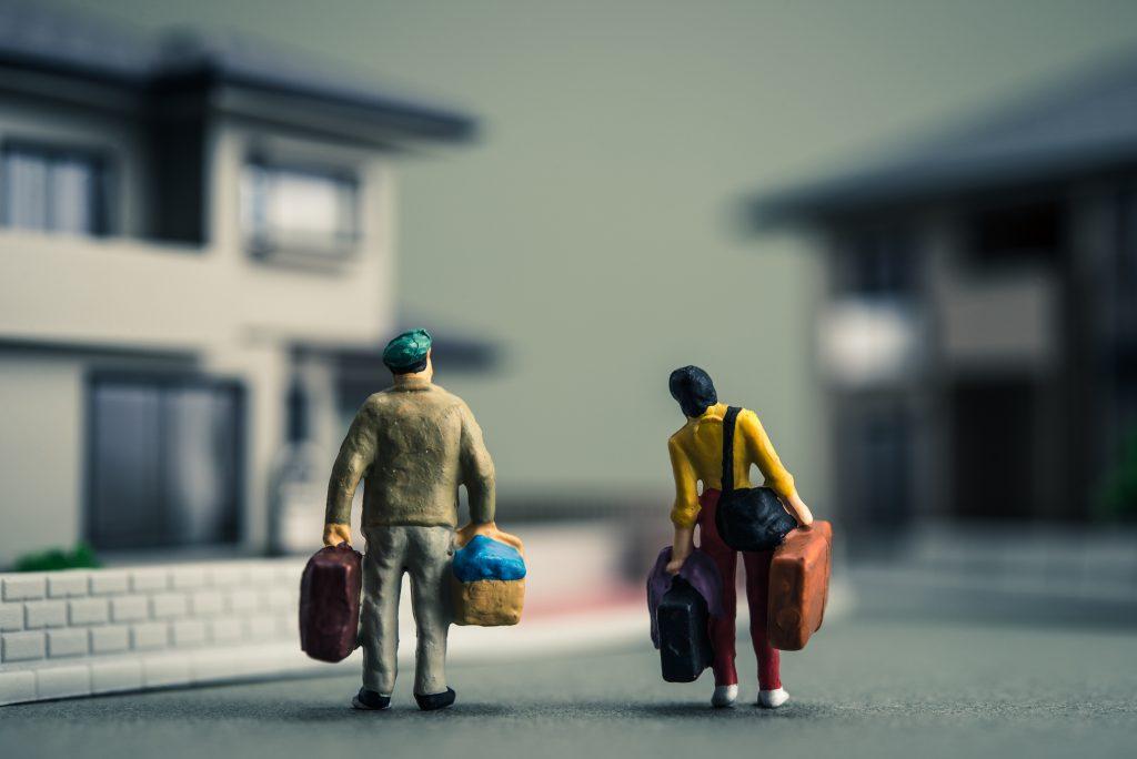 Sisäilmakodittomien pieni omaisuus kulkee kasseissa ja matkalaukuissa